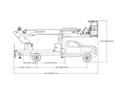 Elliot Equipment line drawing